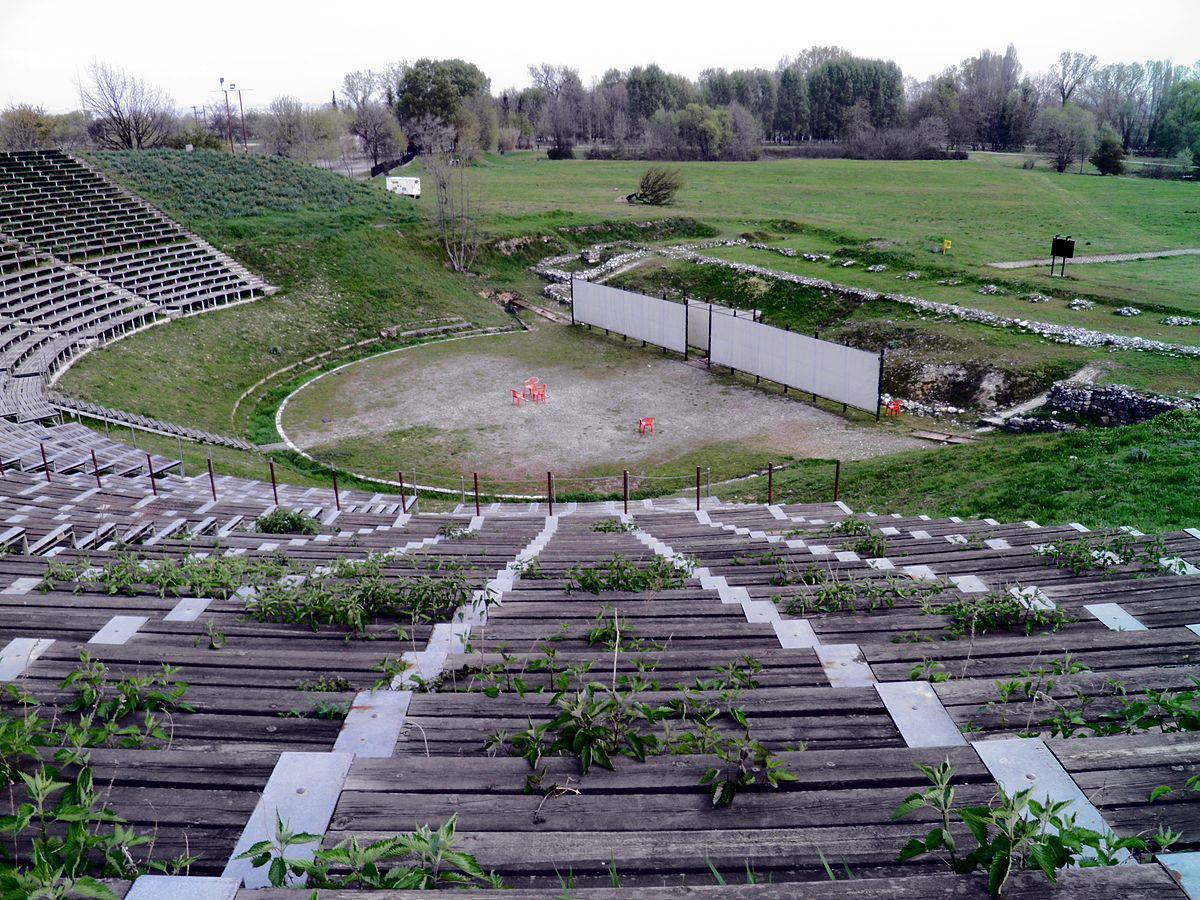 The Hellenistic Theatre, Ancient Dion